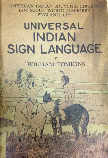 Universal Indian Sign Language front cover